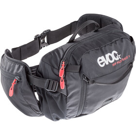 EVOC Hip Pack Race Backpack 3 L + Hydration Bladder 1,5 L black